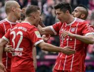 Bayern Munich post record financial returns for 2017/18
