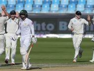 Pakistan bat in second New Zealand Test