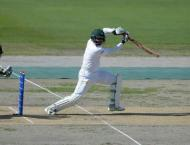Grandhomme's double leaves Pakistan at 56-2 in second Test