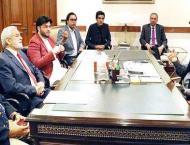 Chairman PCB calls on Punjab Chief Minister Sardar Usman Buzdar  ..