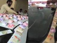 To make wedding memorable, groom decorates car with currency note ..