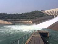 Water level in Mangla dam on decline