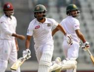 Shadman, Shakib give Bangladesh solid start against Windies