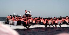 Nine migrants picked up in a boat off British coast