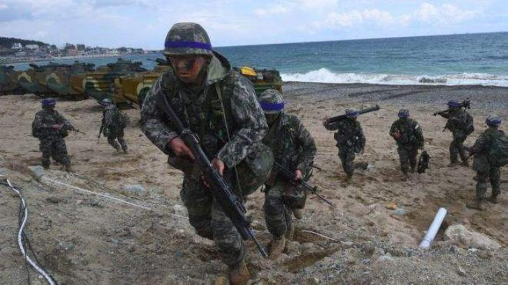 South Korean Defense Ministry Says Resumed Marine Drills With US ...
