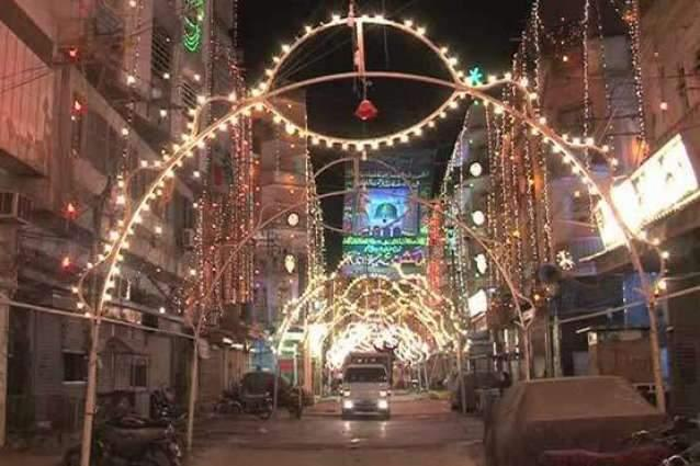 Preparations begin to celebrate Eid Milad un Nabi (PBUH) with religious fervour in AJK
