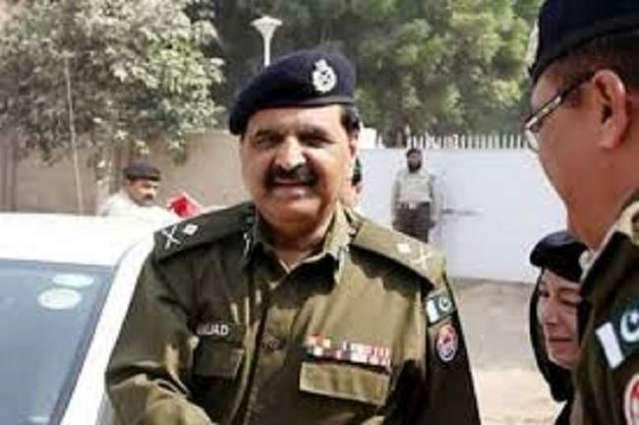 IG Police visits PS Old Anarkali