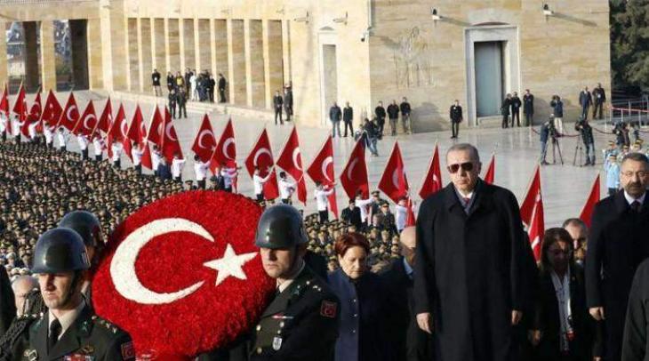 Four Turkish soldiers die in munitions blast: Erdogan