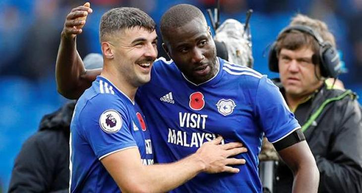 Bamba strikes late to lift Cardiff out of relegation zone