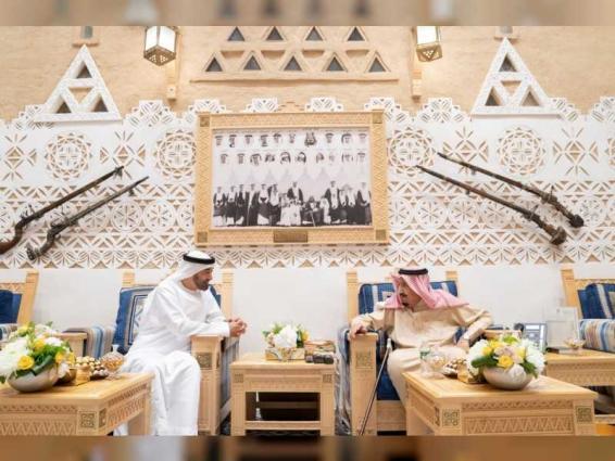 King Salman, Mohamed bin Zayed discuss regional developments