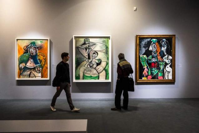 'Picasso & Khokhlova' Exhibition to Open at Pushkin State Museum of Fine Arts on Tuesday
