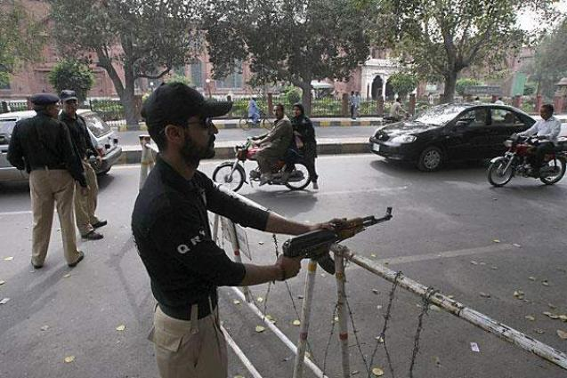 Pakistan arrests top leader of extremist party in Lahore