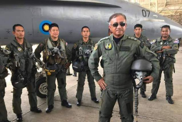 Chief Of Royal Malaysian Air Force Visits Air Headquarters