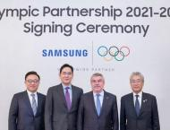 Samsung extends Olympic partnership by 8 years