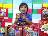 This 7-year-old is YouTube's highest paid star