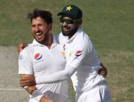 Chaudhry Fawad Hussain congratulates spin wizard Yasir Shah over  ..