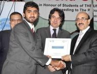 AJK students honored at Turkish scholarship award ceremony
