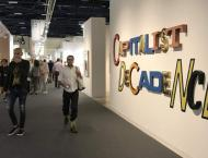 Edgy US political climate reflected at Art Basel in Miami Beach