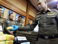 Thai cops kill smuggler in massive meth bust