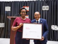 Rwanda's first lady named UNAIDS special ambassador