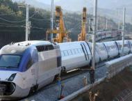 S. Korean bullet train resumes operation after derailment