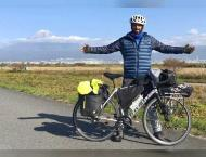 <span>Emirati cyclist tours five countries to convey the message  ..