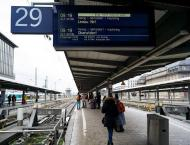 German rail strike halts trains nationwide