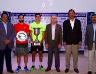 Youssef Ibrahim from Egypt wins 13th CNS Int'l Squash Championshi ..