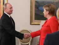 Putin, Merkel Discuss Kerch Strait Incident, Syria, INF Treaty in ..