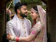 Anushka, Virat exchange love as they celebrate first anniversary  ..