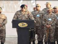 General Qamar Javed Bajwa, Chief of Army Staff (COAS)  visits for ..