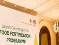 Food fortification programme for federal capital launched