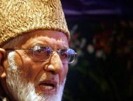 Syed Ali Gilani, others condole demise of Farooq Ahmad Dar's moth ..