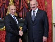 Putin, Lukashenko to Hold Talks in Moscow on December 25
