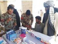 FC Balochistan Chaman Scouts holds free medical camp in Chaman