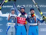 Svindal scorches to Val Gardena super-G win