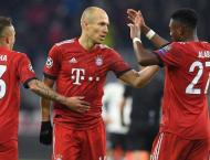 Injured Robben to miss Bayern's three remaining games in 2018