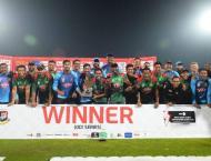 Bangladesh cruise to series win over Windies
