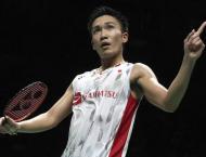 Momota powers into badminton World Tour Finals semis