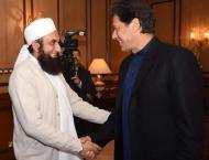 Maulana Tariq Jameel all praise for PM Khan, appeals nation to su ..