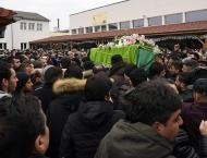 Father who fled Afghanistan only to die in Strasbourg laid to res ..