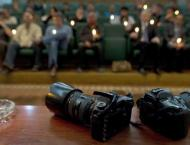 Russian Remembrance Day of Journalists Killed in Line of Duty