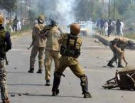 Indian troops martyr five Kashmiri youth in Pulwama