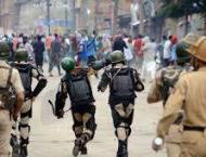 Indian troops martyr ten Kashmiri youth in Pulwama