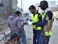 Hazara Traffic police imposes fine of Rs. 287 mn rupees during cu ..