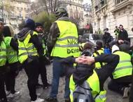 Over 150 'Yellow Vest' Protesters Detained in Paris - Reports