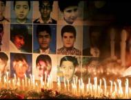 Candles were lit in the memory of martyrs of Army Public School ( ..