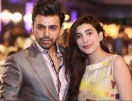 Urwa, Farhan exchange love on second anniversary