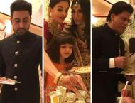 Abhishek Bachchan explains why celebs served food at Ambani weddi ..