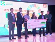 NUST team wins first prize at Jazz SDG Hackathon